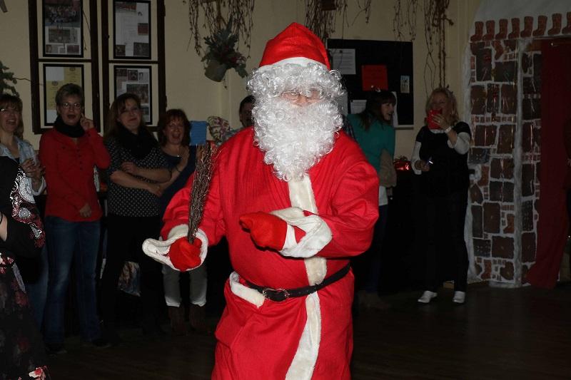 Weihnachtsfeier Country Linedancer Auftritt
